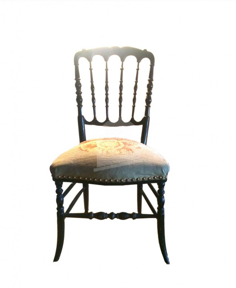 Chaise ancienne type orchestre